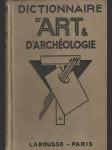 Dictionnaire d´Art & d´archéologie (vo fr. jazyku) - náhled