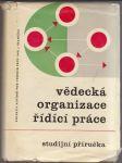Vědecká organizace řídící práce - náhled