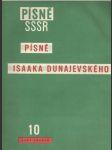 Písně SSSR Písně Issaka Dunajevského (veľký formát) - náhled