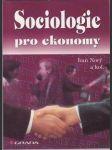 Sociologie pro ekonomy - náhled