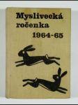Myslivecká ročenka 1964 - 1965 - náhled