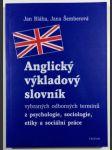 Anglický výkladový slovník - náhled