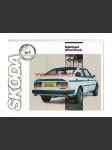 Škoda Rapid Coupé 120 / 130 - prospekt A4 - 8 stran - pěkný stav - náhled