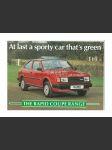 Škoda rapid coupe prospekt 2 strany - anglicky - náhled
