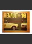 Renault 16 - velký prospekt 4 strany  - se šmouhami - náhled