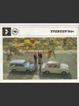 Trabant 601 - 1970 - prospekt - 16 STRAN - A4 - náhled