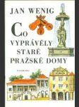 Co vyprávěly pražské domy - náhled