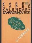 Kalendár - Záhradníkov Rok - náhled