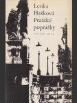 Pražské poprašky - náhled