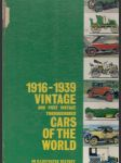 1916–1939 Vintage and Post Vintage Thoroughbred Cars of the World - náhled