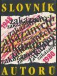 Slovník zakázaných autorů - náhled