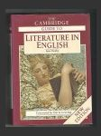 The Cambridge Guide to Literature in English - náhled