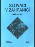 Slováci v zahraničí 24 - Mať volá II. - náhled