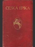 Česká epika - náhled