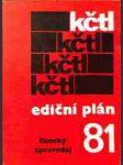 Ediční plán 1981 - náhled