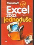 Excel 2003 jednoduše - náhled