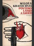 Povídky lásky a smrti - náhled