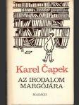 Az irodalom Margójára - náhled