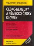 Česko-německý  slovník - náhled