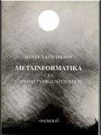 Metainformatika - náhled