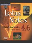 Lotus Notes 4.6 Základní příručka - náhled