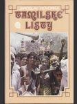 Tamilské listy (väčší formát) - náhled