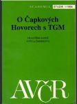 O Čapkových hovorech s TGM - náhled