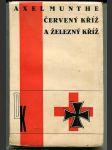 Červený kříž a Železný kříž - The Red cross and Iron cross - OBÁLKA TOYEN - náhled