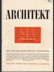 Architekt 3/1948 - náhled