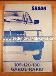 Škoda 105 120 130 Garde Rapid - náhľad