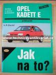 Opel Kadett E - H.R.Etzold - Jak na to? č.7 (2001) - náhľad