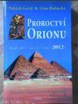 Proroctví orionu - náhľad