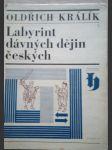 Labyrint dávných dějiny českých - náhľad