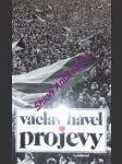 PROJEVY - leden - červen 1990 - HAVEL Václav - náhled