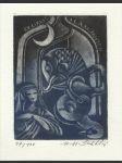 Ex libris A. L. A. M. Nuyten - náhled