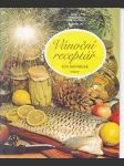 Vánoční  receptář   / sešity domácího hospodaření svazek č.163 / - náhled