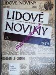 Lidové noviny - ročník 1988 / 1989 - náhled