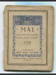 Máj - romantická báseň Karla Hynka Máchy - náhled