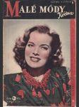 Malé módy května ročník ii. číslo 6 - červen 1947 - náhled