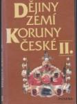 Dějiny zemí koruny české II. - náhled