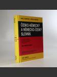 Česko-německý a německo-český slovník - náhled