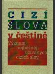 Cizí slova v češtině - náhled