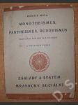 Monotheismus, pantheismus, buddhismus - základy a systém mravouky sociální - náhled