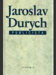 Jaroslav Durych - publicista - náhled