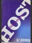 HOST 1 / 1990 - Kolektiv autorů - náhled