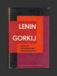 Lenin Gorkij, dopisy, vzpomínky, dokumenty - náhled