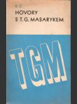 Hovory s T.G. Masarykem - náhled