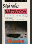 Sága rodu Baťovcov - náhled