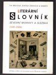Literární slovník Severní Moravy a Slezska - náhled