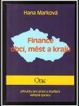 Finance obcí, měst a krajů - náhled